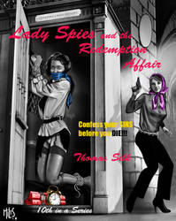 Cover - Lady Spies and the Redemption Affair by knottysilkscarf