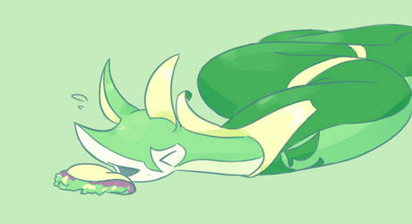serperior can't eat taco by derFischy