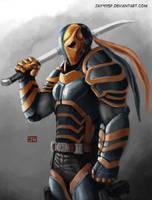DeathStroke - Silent Assassin by jay911sf