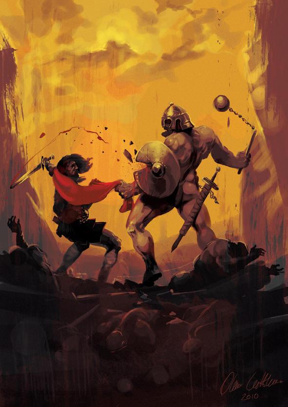 Gariboldi the Giant by OllieCuthbertson
