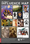 My Influence Map by OllieCuthbertson