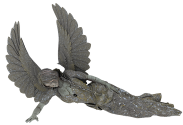 Angel Statue PNG 03 by neverFading-stock