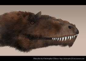 Yutyrannus by Christopher252