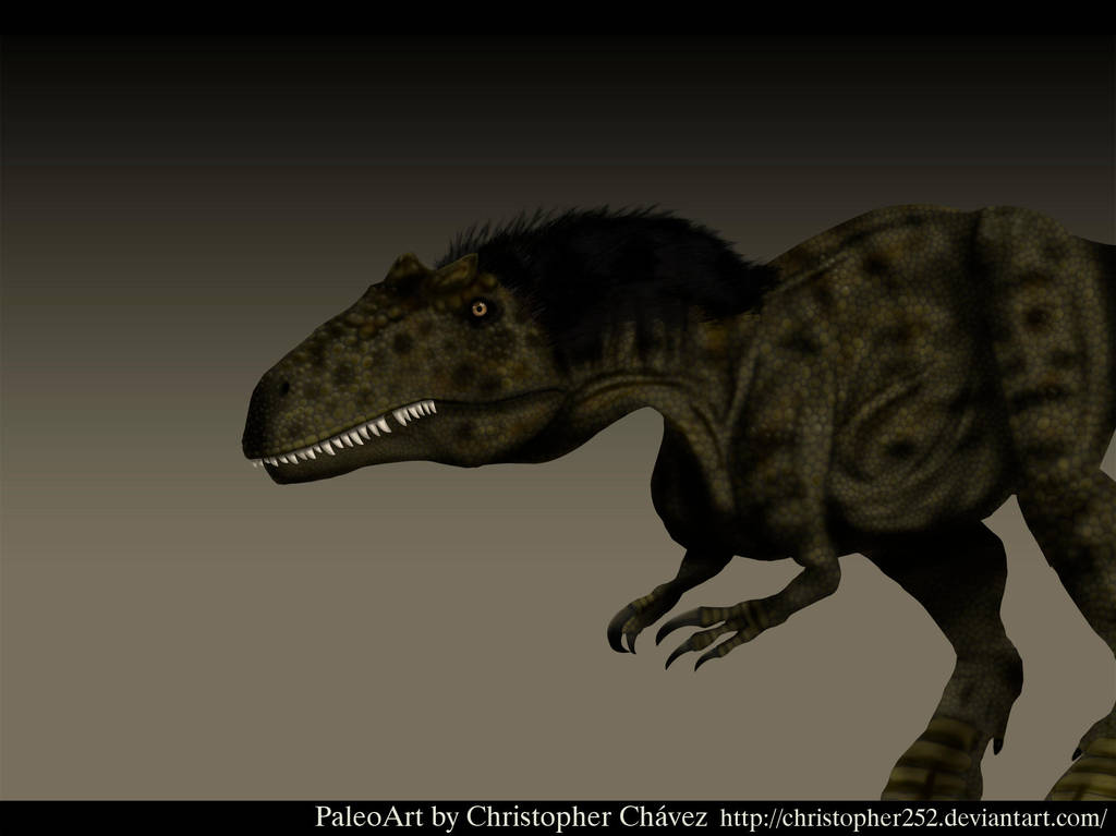 Dryptosaurus by Christopher252
