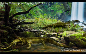 Sclerocephalus sp. by Christopher252