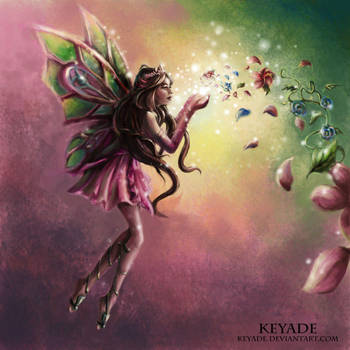 Winx Club - Flora by Keyade