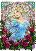 ::Frozen:: Elsa by Keyade