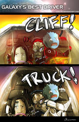 ME2: Galaxy's Best Driver by Chacou