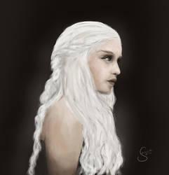 Speedpainting: Daenerys by janine83