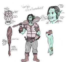Vargo Skullcrusher, low level [Colored] by digitalSatyr23
