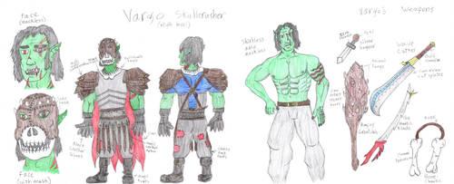 Vargo Skullcrusher, high level [Colored] by digitalSatyr23