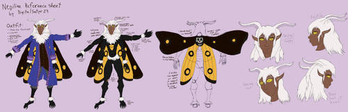 Nepiline Reference Sheet by digitalSatyr23