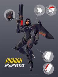 Pharah-Nighthawk Overwatch by UrbanMelon