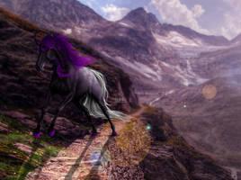 The Mountain-side [COMM] by ellipsiem
