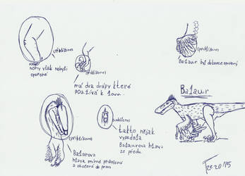 description Balaur by Terizinosaurus
