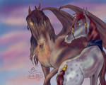 :Meeting A Real Dragon: by Ajilon