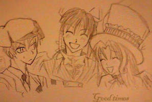 Shinigami good times by Sparklycupcake23