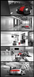 'GoPlus' UX website illustration by E1design