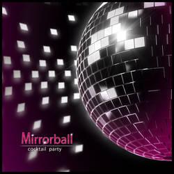'Mirrorball' party invitation cover by E1design