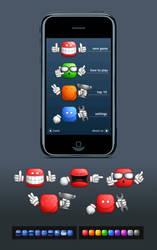 Mobile game graphic by E1design