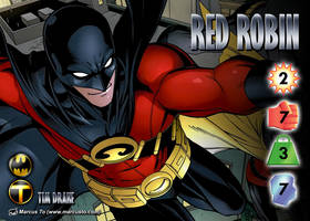 Red Robin (Tim Drake) Character by overpower-3rd