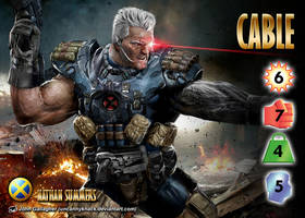 Cable (Nathan Summers) Character by overpower-3rd