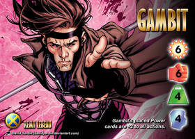Gambit (Remy LeBeau) Character by overpower-3rd