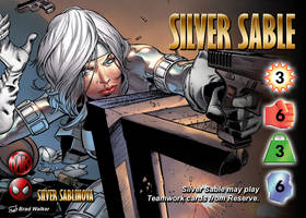 Silver Sable (Silver Sablinova) Character by overpower-3rd
