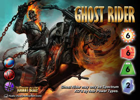Ghost Rider (Johnny Blaze) Character by overpower-3rd