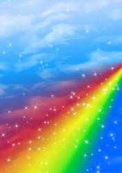 Background rainbow by Photospace1