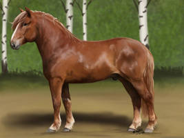 Finnhorse practice by KnifeInToaster