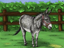 Donkey by KnifeInToaster