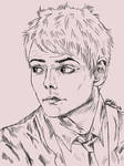Gerard Way - request by KnifeInToaster
