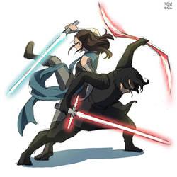 Star wars VIII : Light . Dark by Janenonself