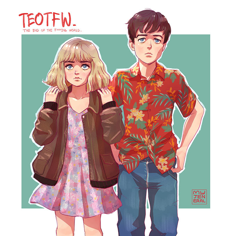 TEOTFW: Alyssa And James by Janenonself