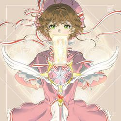 Sakura Kinomoto by Janenonself