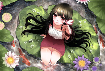 - Water lily - by Ruzuri