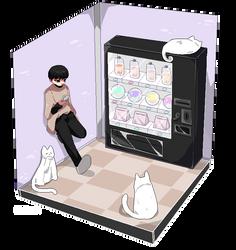 - Vending machine - by Ruzuri