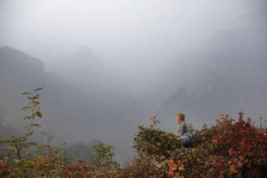 Yuitanshan mountains scenery by msFiBi