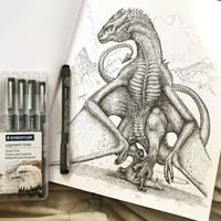 Dragon Art by TheGreatestLoverArt