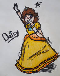 Princess Daisy by pkmntrainer-rae