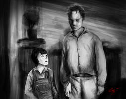 Boo and Scout Speedpaint by ziksan