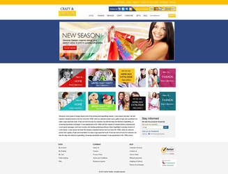 eCommerce/shopping cart design by Kanhasharma