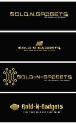 Gold logo by Kanhasharma