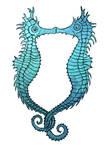 Seahorse Kiss by Olooriel