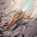 Racing ship V1 by Crimson--Blade