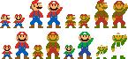 Super Mario Maker - Map and amiibo Mario pose by IceLucario20xx