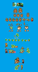 Aggressive Bowser sprites by IceLucario20xx