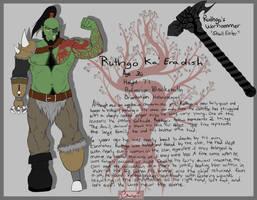 Ruthgo Ka' Eradish by SBloodwing