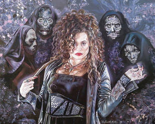 Bellatrix Lestrange by Podzadpinator